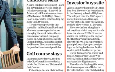 Investor Buys Site
